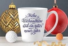 Frohe Weihnachten Deutschland Christmas svg Around the World Product Image 2