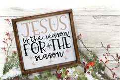 Christmas Svg - Jesus Is The Reason for the Season Product Image 2