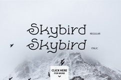 Skybird Family - Crazy, unique & retro Product Image 3