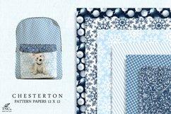 Westie Dog Illustration Set + Bonus Patterns & Alphabet Product Image 4