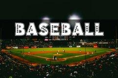 Baseball Slab Outline Font Product Image 6