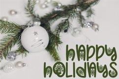 Christmas Snowflakes Font Product Image 3