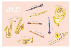 Orchestra! Set of vector musical instruments Product Image 3