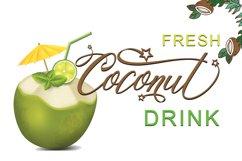 Coconut Script Product Image 2