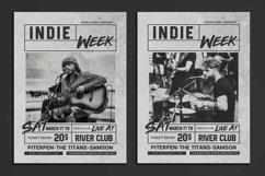 Indie Week Flyer Product Image 1