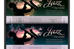 Jazz Concert Event Ticket Template Product Image 5