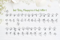 Love Story Monogram Font Product Image 6