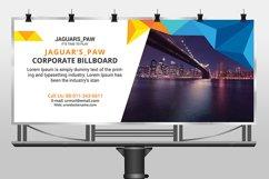 Professional corporate billboard template design Product Image 2