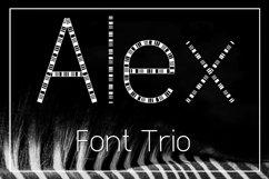 Alex Font Trio Product Image 1