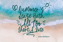 Summer Stylish - A Handwritten Font with Extra Product Image 3
