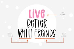 Forever Friend- A handwritten font duo Product Image 6