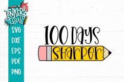 100 days sharper School SVG Product Image 2