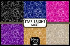 "2 Designs of 6 colours - 12"" x 12"" - Star Bright Set Product Image 3"