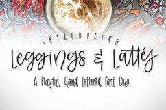 Leggings & Lattes Font Duo Product Image 1
