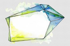 Tourmaline crystals Watercolor png Product Image 3