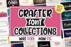 BEST CRAFTER FONT COLLECTIONS Product Image 4