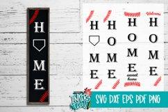 Home Baseball SVG DXF Product Image 1