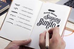 Dakmodal Typeface Product Image 5