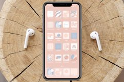 iOS 14 Icon Canva Template | App Icons | Rose Product Image 6