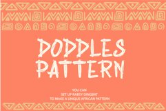 Rabsy African pattern font Product Image 2