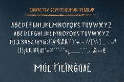 Scratchedman Font Product Image 8
