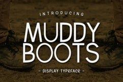 Web Font Muddy Boots Product Image 1