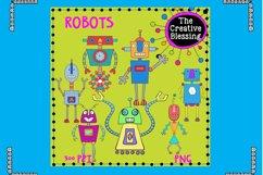 Hand Drawn Robots Product Image 1