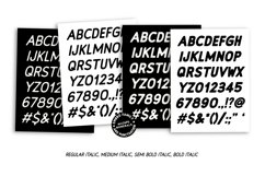 Embro font family Product Image 5