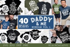 Daddy and me SVG bundle 40 designs vol 1 Product Image 1
