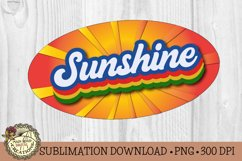Retro Stacked Summer Sublimation-Vintage Sublimation Design Product Image 3