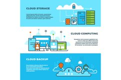 Cloud computing solution, data storage business services, in Product Image 1