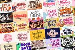 BIG BUNDLE - Seasonal Crafting Font Collection!! Product Image 14