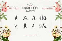 Mightype Handlettering Font Pack Product Image 4