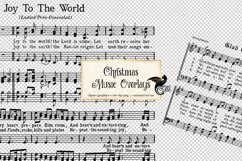 Christmas Music Overlays Product Image 1