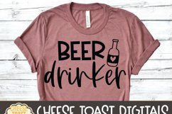 Beer Drinker - Drinking SVG Files Product Image 3