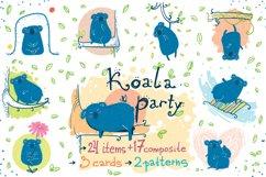 Koala Party -9 koalas and the nature Product Image 1