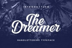 Web Font The Dreamer Product Image 1