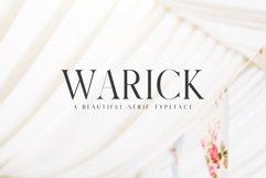 Warick Serif Font Family Product Image 1