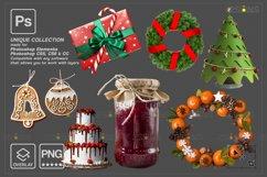 Christmas overlay & Sparkler overlay, Photoshop overlay Product Image 4