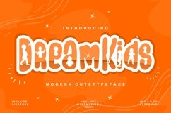 Dream Kids | Modern Cute Typeface Product Image 1