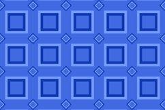 16 Seamless ThreeTone Square Patterns Product Image 6