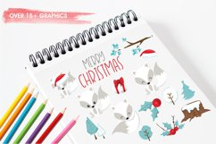 Winterland Fox graphics and illustrations Product Image 3