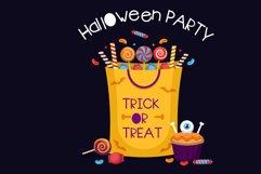 Halloween party Handwritten - cute kid font Kawaii style! Product Image 4