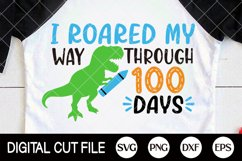 100 Days Of School Svg, 100 Days, Gifts For Teacher Shirts Product Image 3