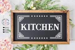Laundry - Barn - Kitchen - Pantry Cut Files and Sublimation Product Image 4