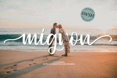 MIGNON SCRIPT & SWASHES Product Image 1