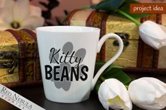 Kitty Beans   Cat Pawprint SVG / Sublimation for Cat Lovers Product Image 2