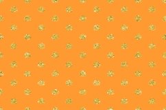 Radiant Yellow Color & Glitter Geometric Digital Papers Product Image 3