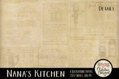 Nana's Kitchen Digital Scrapbook Kit Product Image 2
