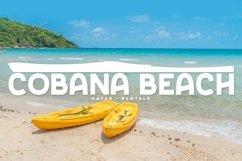 Web Font Sandy Beaches Product Image 4